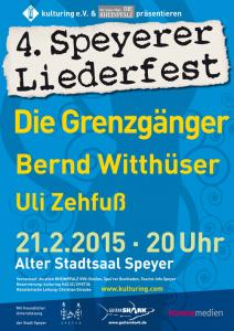 Liederfestplakat 2015