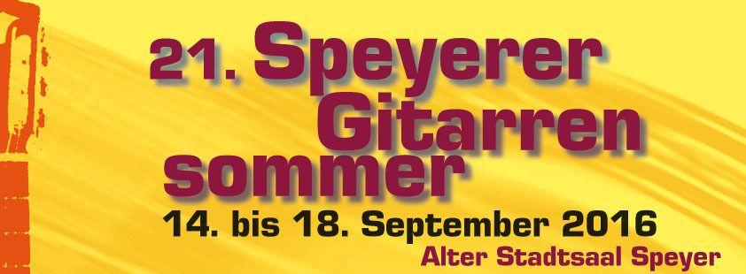 Speyerer Gitarrensommer 2016