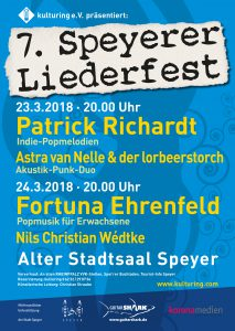 Plakat zum 7. Speyerer Liederfest